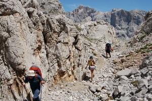 Ruta de senderismo de 4 días en Los Picos de Europa